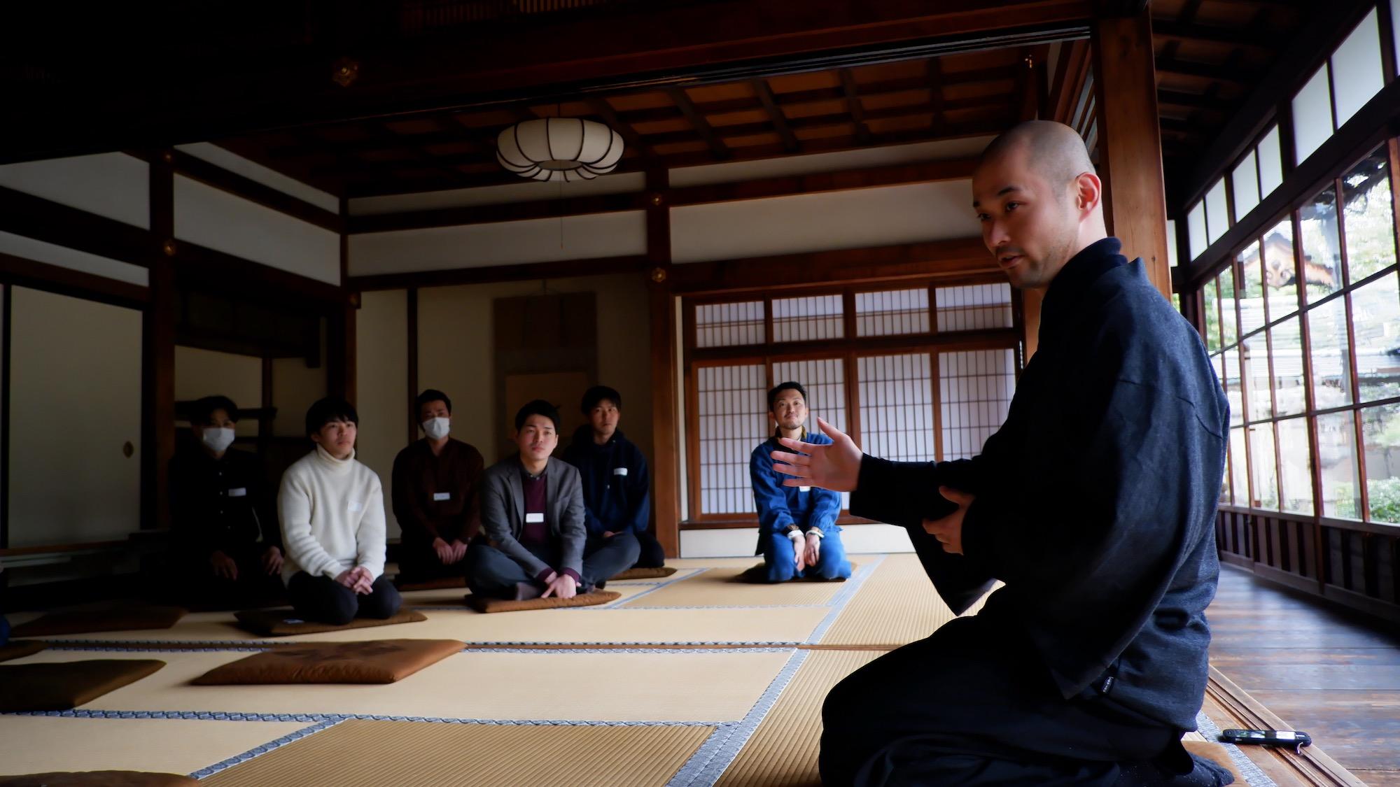 【京都をつなげる30人 1期 オープンセッション】〜お寺×企業編〜