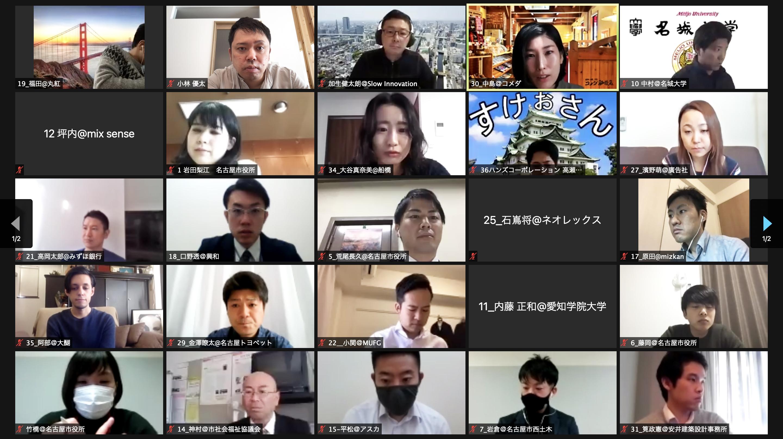 【ナゴヤをつなげる30人 第2期Day5レポート】〜最終発表に向けてプロジェクト実行の道筋を描く〜